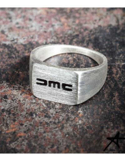 DMC RING aus 925 Sterlingsterlingsilber oder Edelstahl